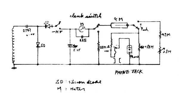 algonquin wind up geiger counter below a re touched picture of the original algonquin wind up geiger counter electrical wiring diagram