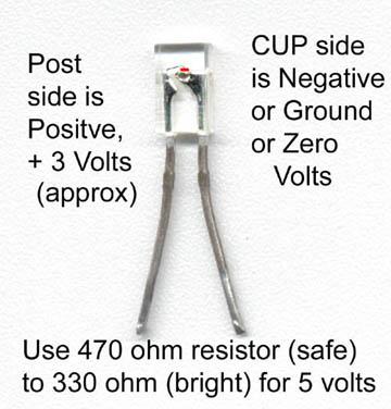 how to page 2 the following wiring diagram is not safe nor recommended but usually works just fine for demonstration purposes note that 99% of leds have a positive and